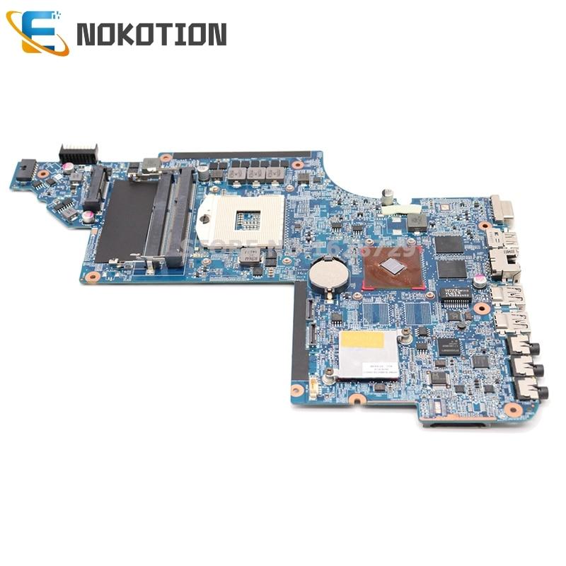 NOKOTION 641487-001 665347-001 لإتش بي جناح DV6 DV6-6000 اللوحة المحمول DDR3 HM65 512MB GPU