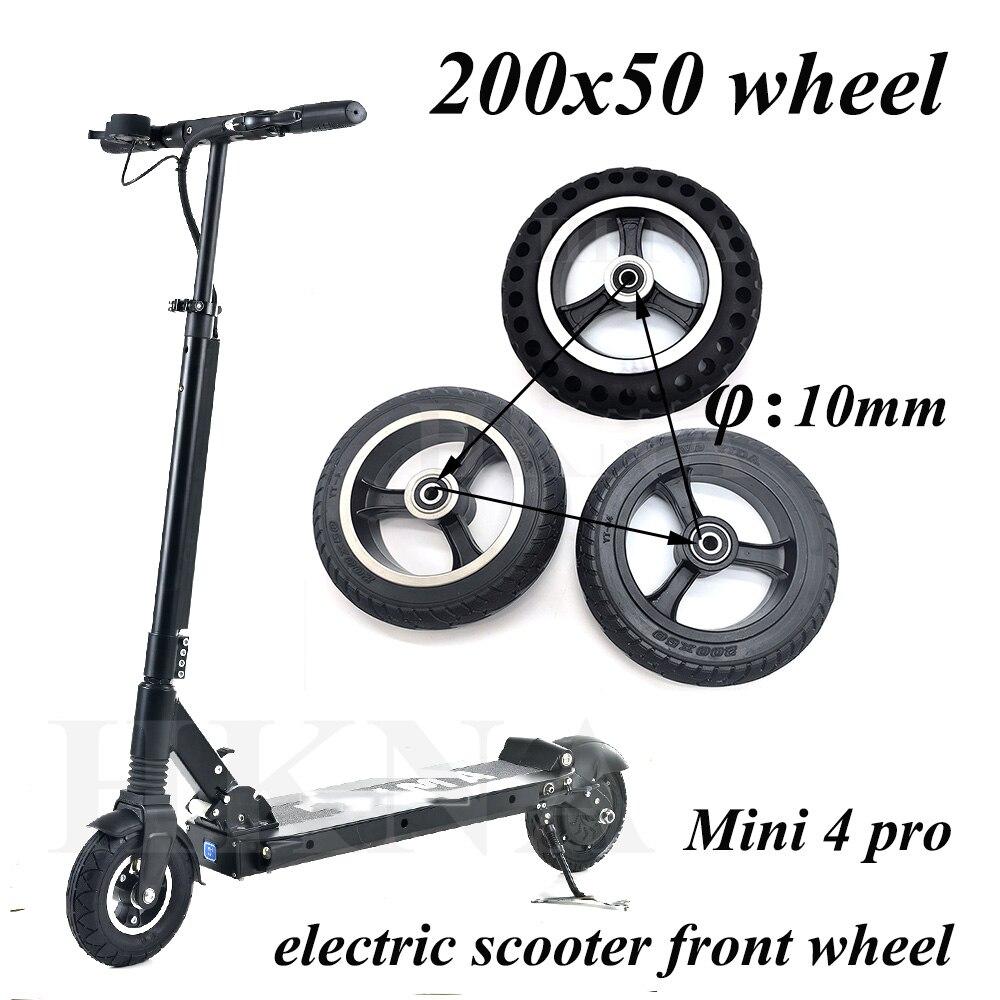 Neumático de rueda sólida para patinete eléctrico, accesorios de repuesto para rueda...