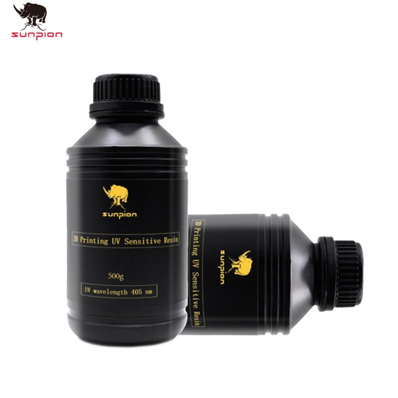 Resina UV de 405nm para fotones, fotones, impresora 3D, Material de impresión LCD UV sensible Normal, Gadget de botella líquida de 500g/1000g