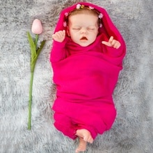 17 cali około 43cm odrodzona lalka zamknij oczy śpiące słodkie dziecko realistyczne prawdziwy dotyk pełna silikonowa Todderl dziewczyna dziecko z bicie serca