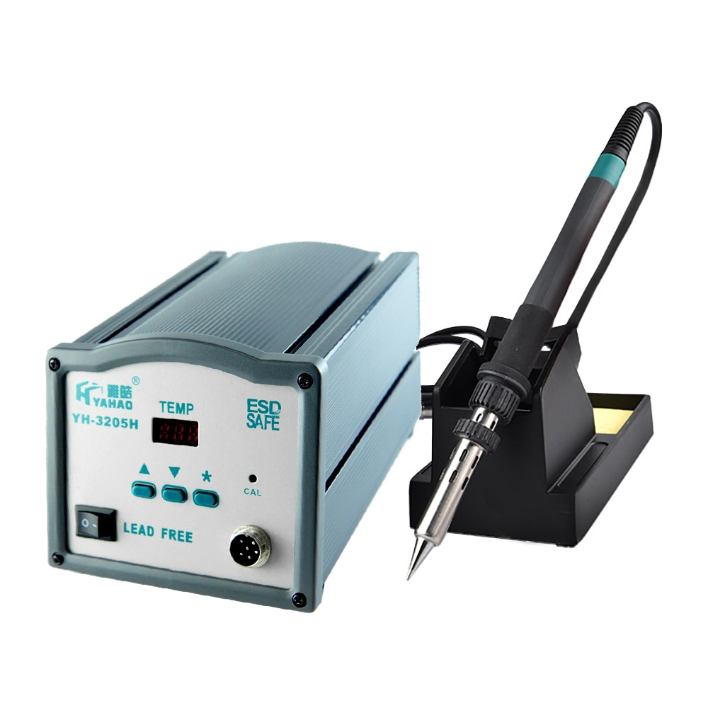 Soldering Station Welding Tool 150W Electric Soldering Iron YH-3205H Repair High Frequency Digital Display High-power Lead-free
