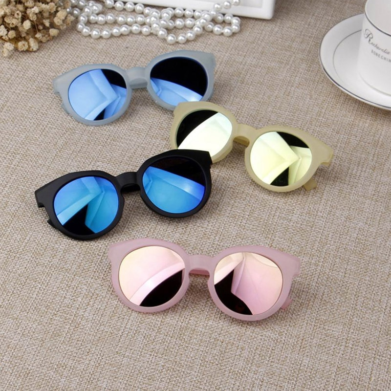 OLNYLO Fashion Brand Kids Sunglasses Black Children's sunglasses Anti-uv Baby Sun-shading Eyeglasses