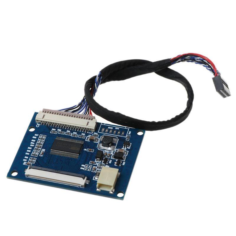 1Set Standard 20Pin 1-ch LVDS Eingang zu 50Pin TTL Ausgang Fahrer Board mit Kabel
