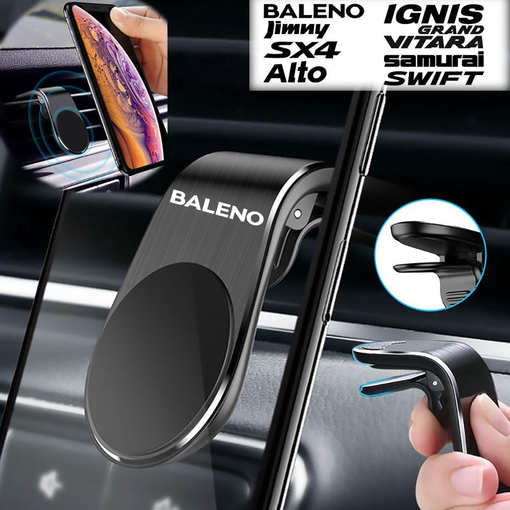Автомобильный держатель для телефона для Suzuki Baleno, автомобильная подставка для мобильного телефона, Магнитная подставка для телефона