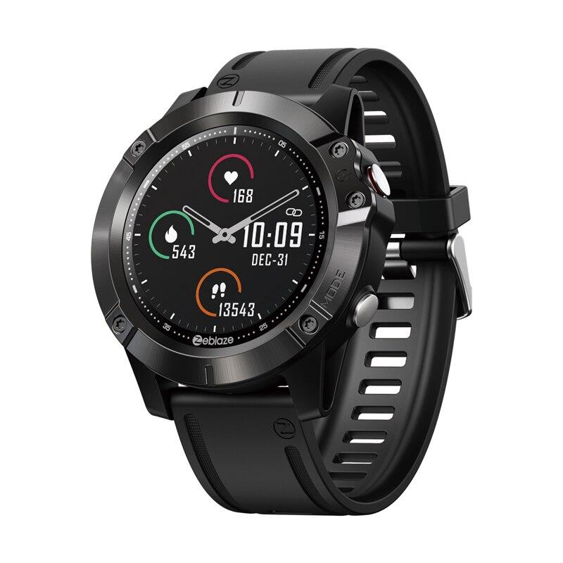 Zeblaze فيبي 6 بذاتها الموسيقى لاعب الذكية ووتش تلقي/إجراء مكالمة القلب معدل ضغط الدم 25 أيام عمر البطارية Smartwatch