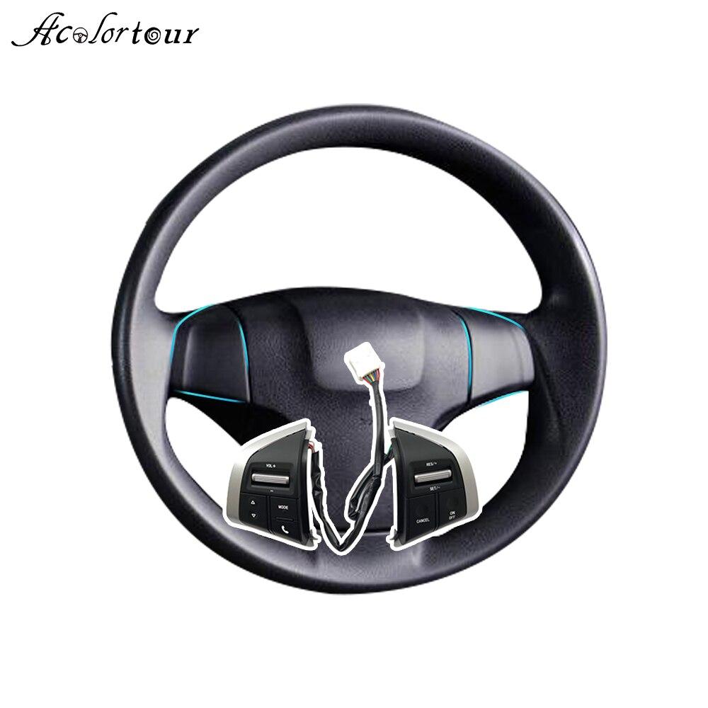 Interruptor de Botão de Ajuste de Velocidade de Cruzeiro Áudio Volante do carro Auto Peças Para caminhões Chevrolet Colorado Dmax 2019 Para Holden