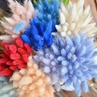 Bulrush     botte de roseaux des marais seches  plantes artificielles  bouquet de fleurs pour decoration de maison  50 to
