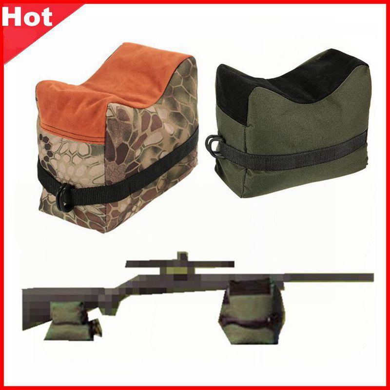 Bolsa de tiro de francotirador pistola bolsa trasera y delantera soporte para blanco Rifle soporte saco de arena banco sin relleno al aire libre tachuela conductor caza Rifle descanso