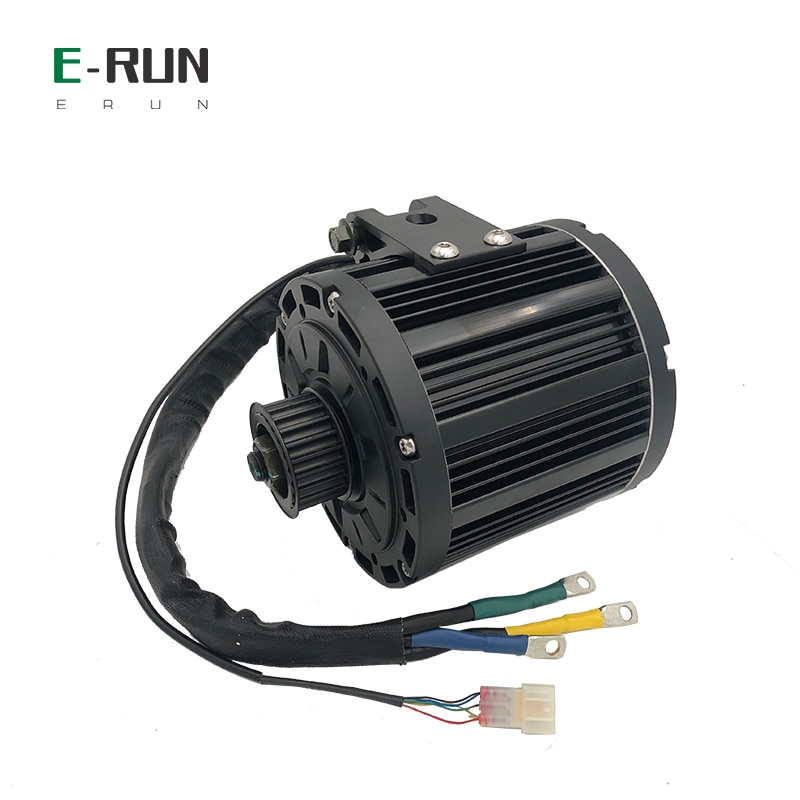 QS 138 90H 4KW 100KMH 72V Mid Drive Motor With EM150S 150A Controller Comb Throttle For High Speed Electric Scooter Motorcycle enlarge