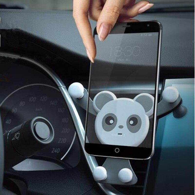 Porta salida de aire móvil, soporte para teléfono móvil, accesorios para interior,...