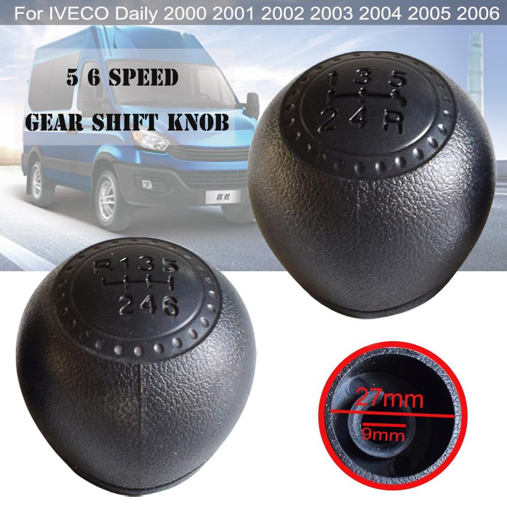 Perilla de palanca de cambios MT para coche, palanca de cambios para Iveco Daily 2000 2001 2002 2003 2004 2005 2006 para 5 velocidades 6 velocidades