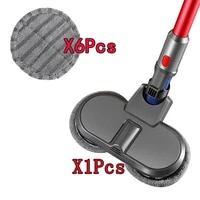 electric mopping brush vacuum cleaner cleaning cloth for dyson v7 v8 v10 v11 replaceable parts