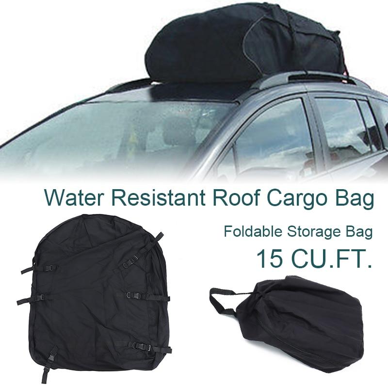 105X90X45cm bolsa de techo de coche bolsa de techo de almacenamiento resistente al agua bolsa de techo de carga superior portaequipajes de almacenamiento de coche de turismo impermeable