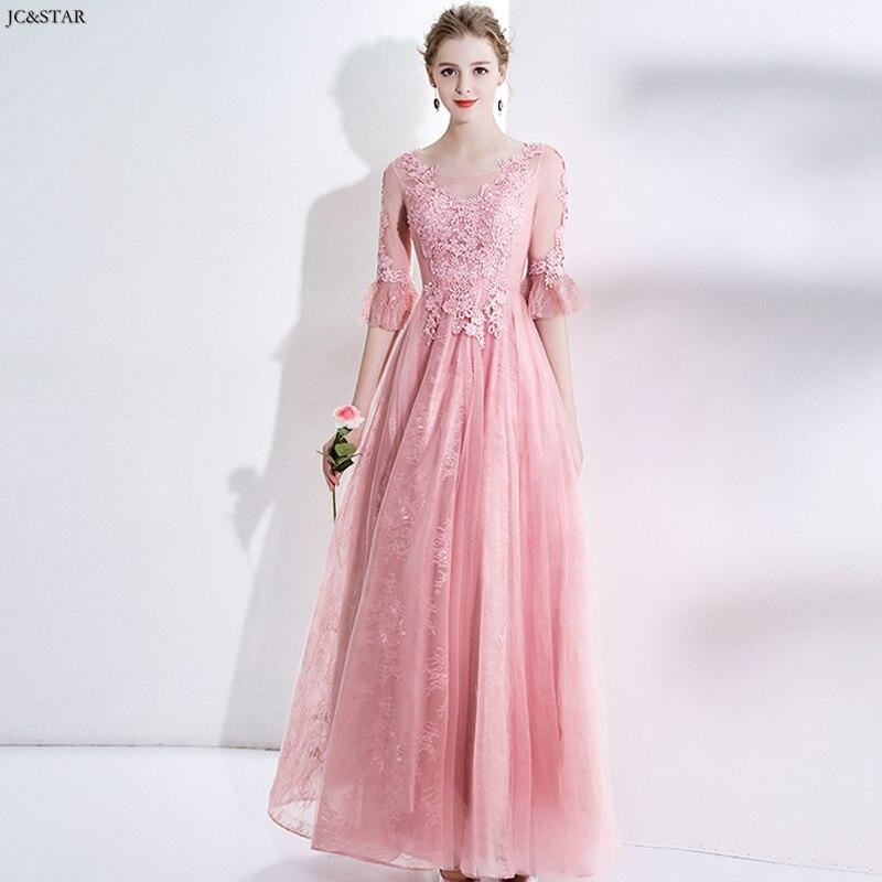 Vestido de novia largo con cuello de cuchara para invitados, vestido de...