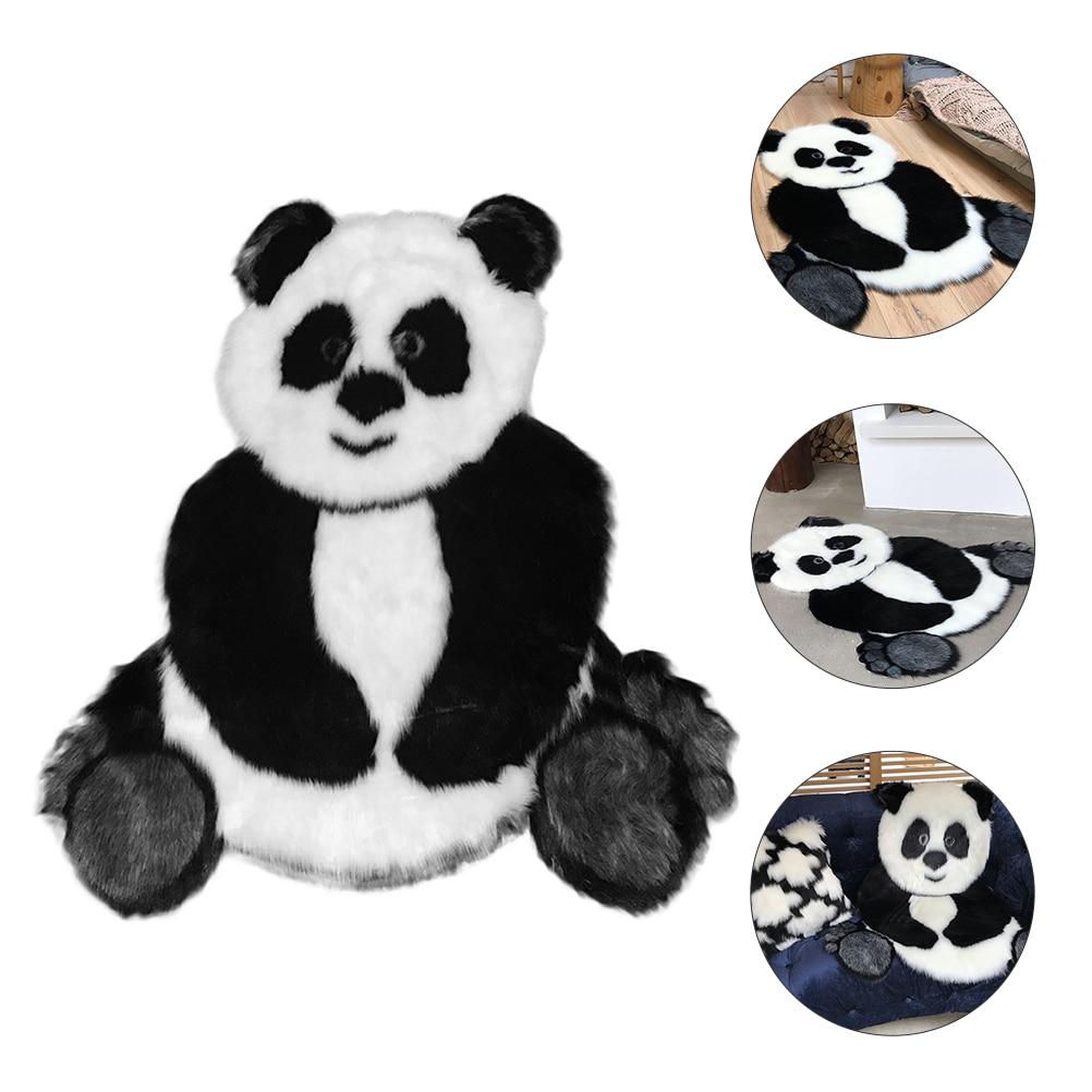 1 قطعة الباندا السجاد الزخرفية المنزل الكلمة حصيرة الحمام السجاد سجادة ضد الإنزلاق