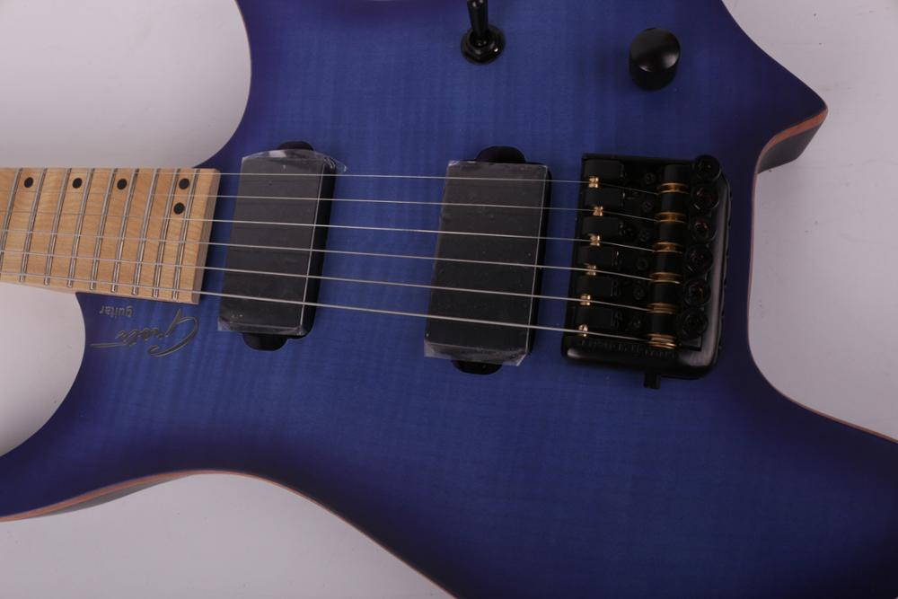 Good quality electric headless travel guitar free shipping enlarge