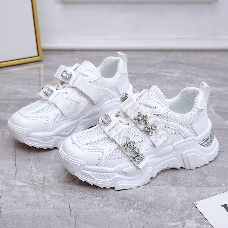 Zapatillas vulcanizadas De diseñador para Mujer, zapatos deportivos De baloncesto, informales, con...