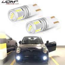 IJDM-feux de stationnement blancs W5W   Lampes 168, Canbus sans erreurs, 12V-32V T10, pour BMW mini Cooper F54 F55 F56 R52 R53 R55 R56