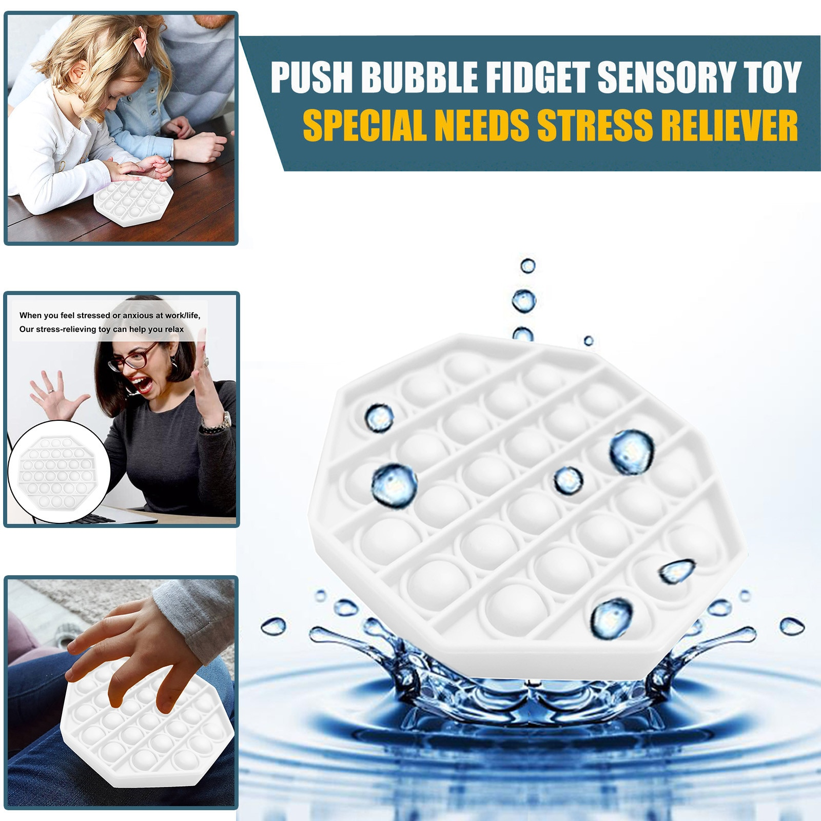 2020 Christmas Gift Black And White Unisex Toys To Relieve Stress And Fidgeting Autism Stress Reliev
