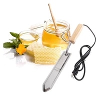 1pcs bee tools power cut honey knife 220v honey cutter beehive beekeeping equipment heats up quickly cutting bee extractor tool