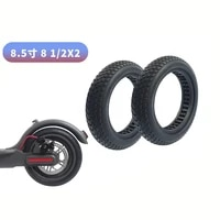 for xiaomi mijia electric scooter hollow solid tire 8 5 inch 8 12x2 inflatable tire 1s pro general purpose accessories