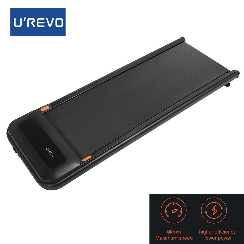 Urevo U1 Fitness Walking Machine Ultra Thin Smart Treadmill 3 Speed Mode with Wireless Remote Control Exercise Gym Equipment