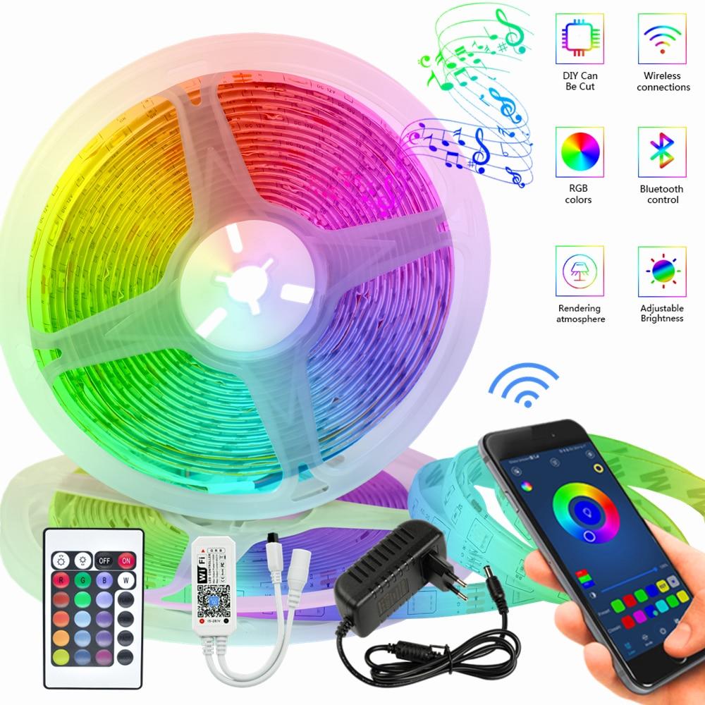 LED Light Strips Waterproof Infrared 20M Stuitable For Indoor Atmosohere RGB Lights 5M 10M Lights Bl