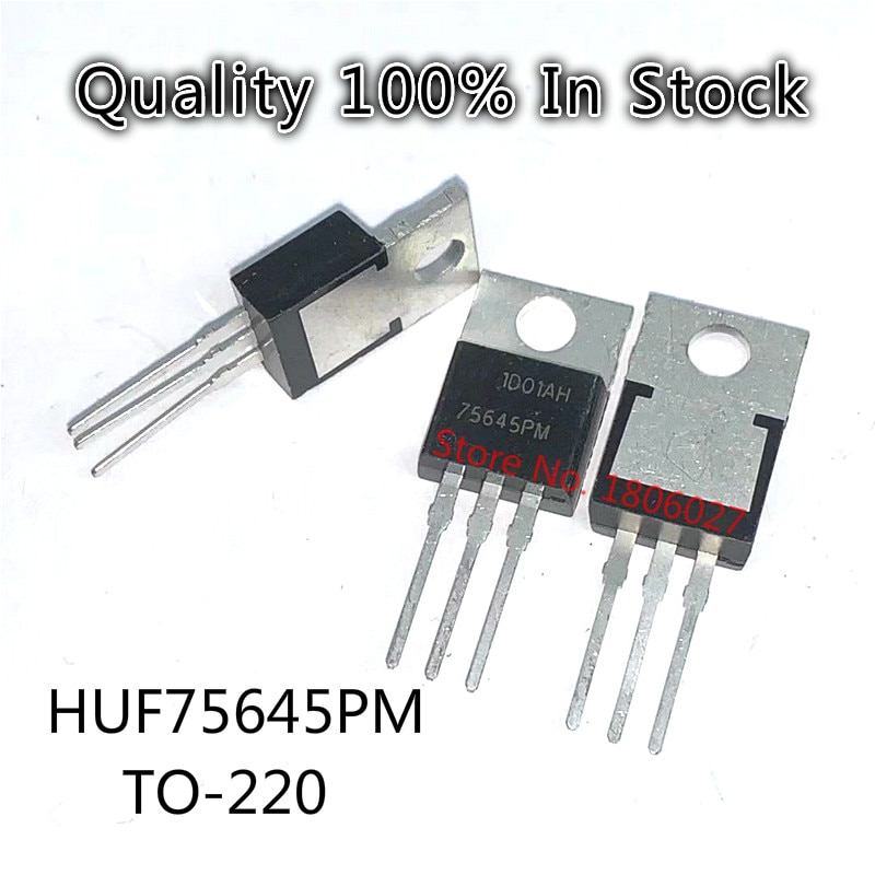 Send free 20PCS HUF75645PM 75645PM  TO-220  New original spot selling integrated circuits