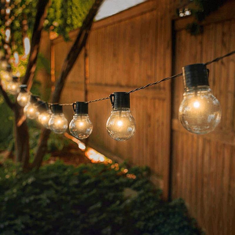 Уличная гирлянда на солнечной батарее, 8 режимов работы, IP65 водонепроницаемая сказочная лампа на солнечной батарее для вечерние, сада, двора