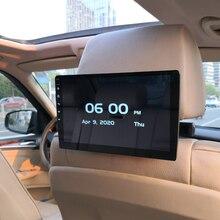 Reposacabezas para coche 2020, pantalla HD de 10,1 pulgadas, reproductor de vídeo 1080P Android 8,1, Compatible con WIFI/HDMI/USB/TF/BT RAM, 1GB, configuración de descarga de la aplicación con logotipo