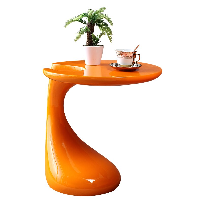 Round Personality Mini Balcony Small Coffee Table Simple Modern Creative Tea Bedroom Sofa Side
