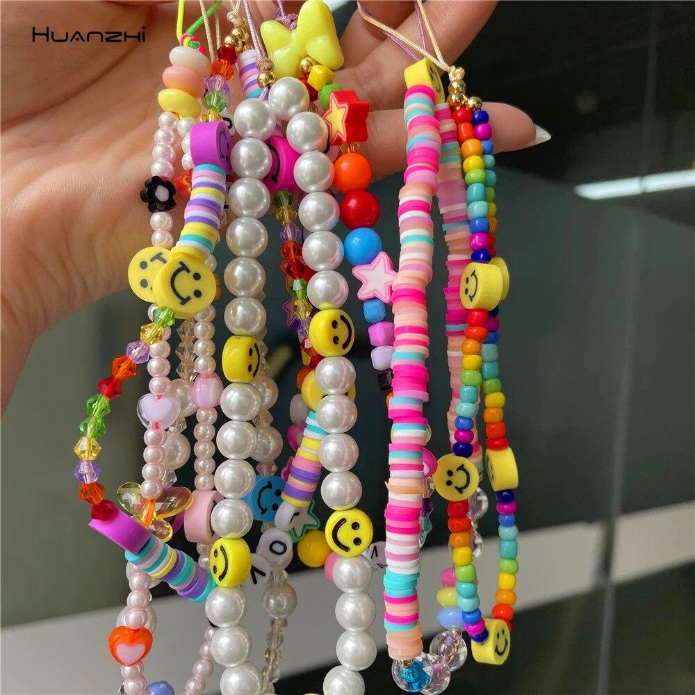 huanzhi-новый-мобильный-телефон-ремешок-цветных-улыбок-и-жемчугом-Мягкая-Керамика-веревка-для-Для-женщин-сотовый-Чехол-для-телефона-подвесной