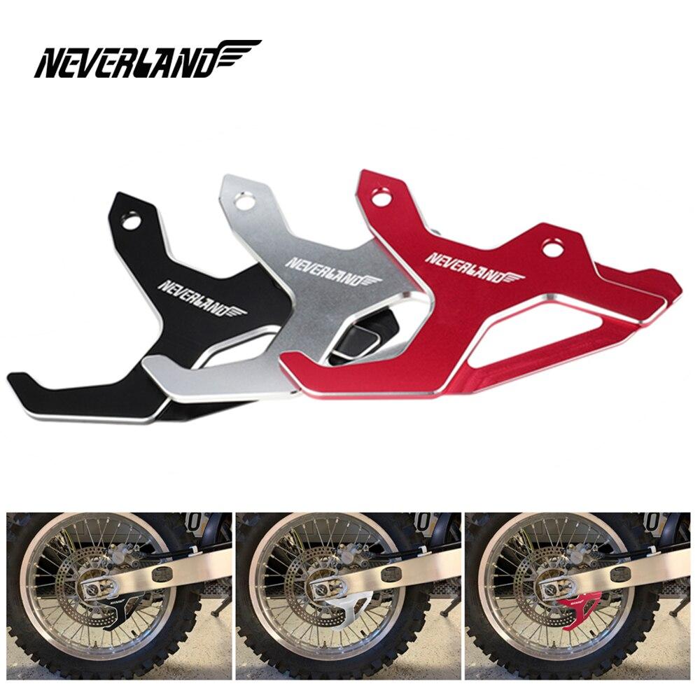 Motorcycle Rear Brake Disc Guard Protection For Honda CR125R CR250R CRF250R CRF450R CRF450RX CRF250X CXR450X D40