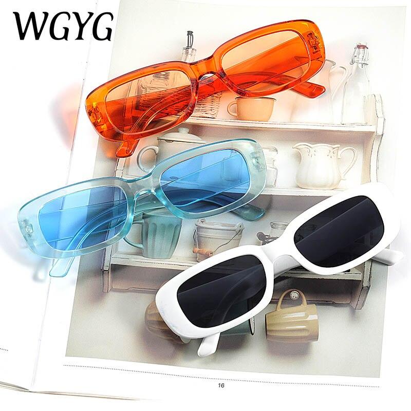 Fashion classic women's sunglasses brand designer retro rectangular sunglasses women's UV400 glasses