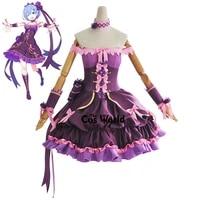 re zero kara hajimeru isekai seikatsu 2021 ram rem happy birthday dress outfit anime customize cosplay costumes
