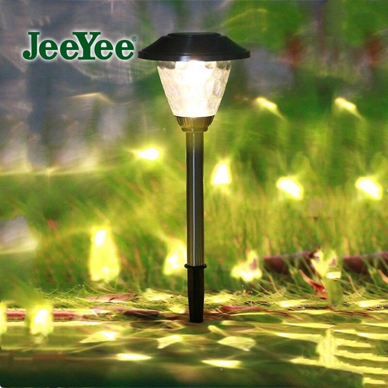 JeeYee-Lámpara de césped Solar para exteriores, luz Led Solar de Luces de...