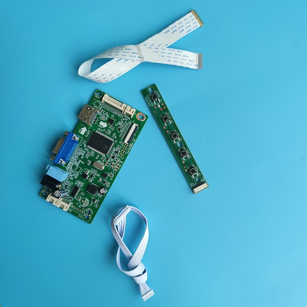 كيت ل LP156WHU-TPA1/LP156WHU-TPD1 1366x768 30pin EDP سائق HDMI-متوافق VGA المراقب المجلس moitor عرض LCD LED لوحة