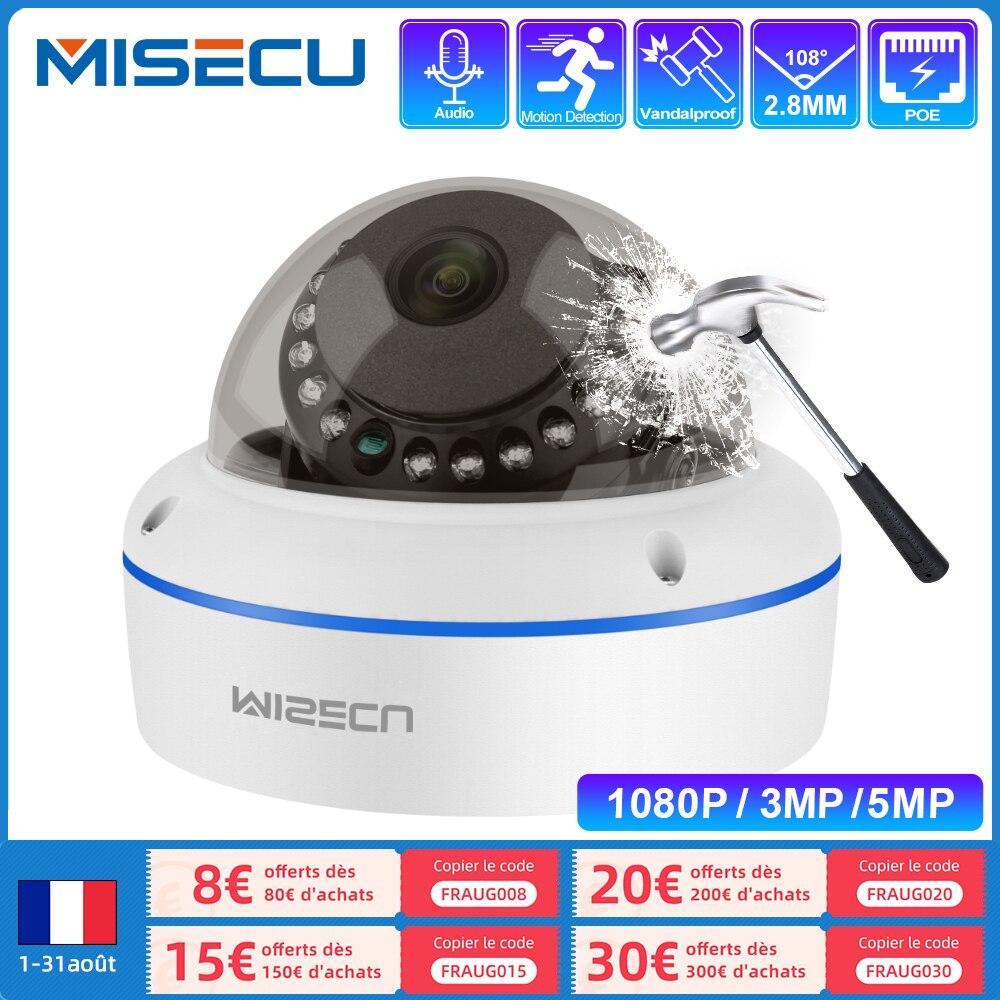 IP-камера MISECU для системы видеонаблюдения, 5 МП, 3 Мп, 1080P, H.265