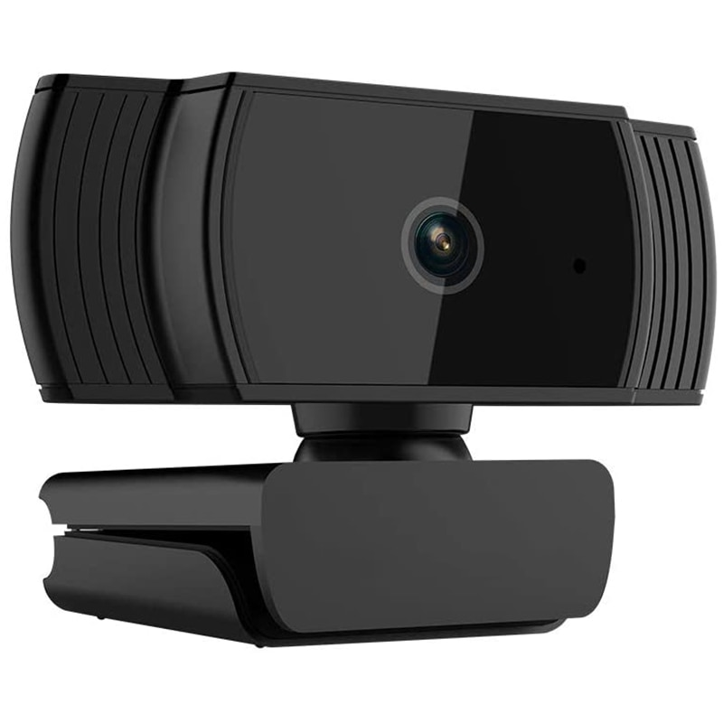 Webcam 1080P, cámara Web HD con micrófono HD incorporado 1920x1080P, cámara Web con USB Play, pantalla ancha para ordenador de sobremesa y ordenador portátil