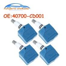4 pcs/lot Car 40700-CD001 40700CD001 TPMS Tire Pressure Sensor For Nissan Infiniti M35 M45 Q45 FX35