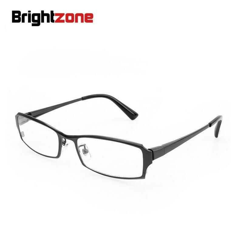 2020 نظارات عمل عالية الجودة للرجال ، إطار بإطار من التيتانيوم الخالص بوصفة طبية لقصر النظر ، 100%