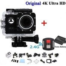Kamera Pro Cam Sport Action Con Telecomando Kamera 4k Videokamera Wifi Ultra Hd 16mp DVR Outdoor Tauchen Fahrrad Camcorder