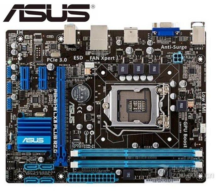 Original placa madre ASUS P8H61-M LX3 más R2.0 DDR3 LGA 1155 I3...