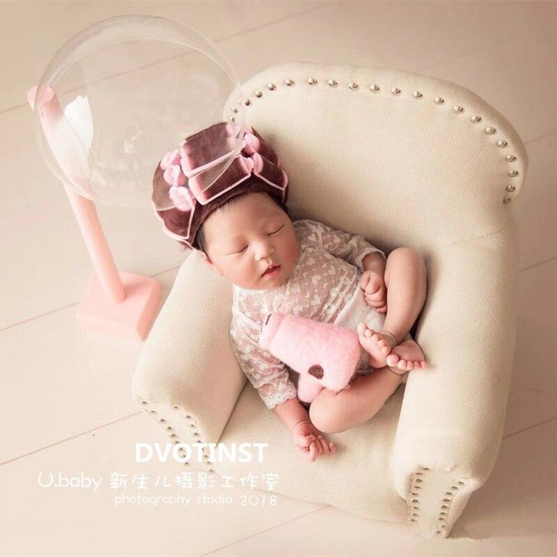Dvotinst Новорожденный Фотография реквизит для ребенок позирует мини-диван подлокотник подушка Fotografia аксессуары Студия фото реквизит