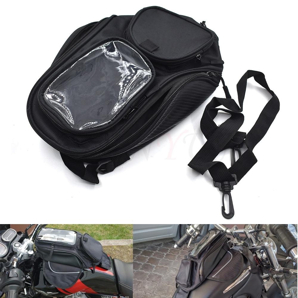 Nueva mochila negra resistente al agua para asiento magnético, mochila para BMW K1600 K1300 K1200R K1200S R1200RT R1200ST R1200GS HP2