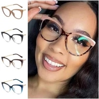 2021 anti blue glasses women men optical eyeglass anti uv spectacles cat eye eyewear 9 colors