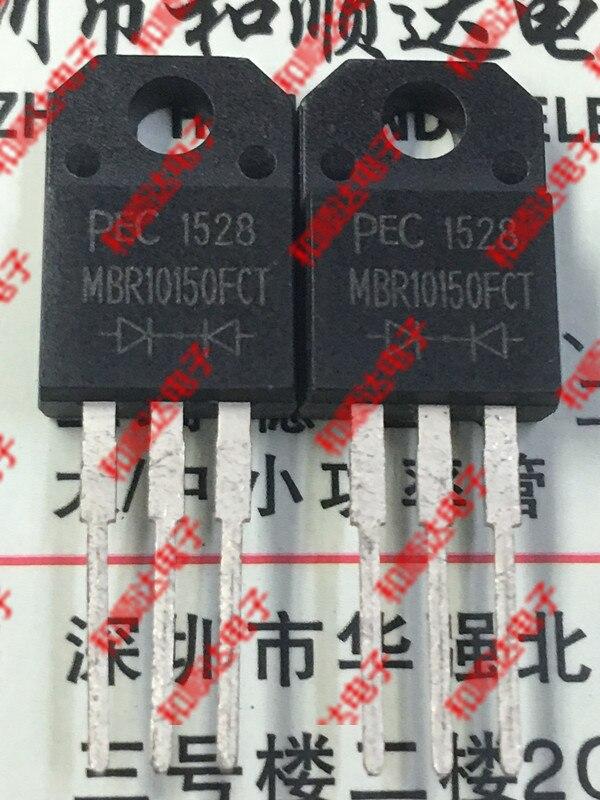 10 unids/lote MBR10150FCT nuevo lugar TO-220F SCHOTT 150V 10A