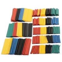 328pcs assorted electrical wire terminals insulated crimp connector spade ring set thermal casing