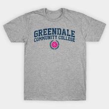 T-shirt homme Greendale collège communautaire (2) t-shirt femme t-shirt