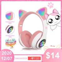 Bluetooth-наушники «кошачьи уши» с микрофоном,auriculares bluetooth,беспроводные наушники